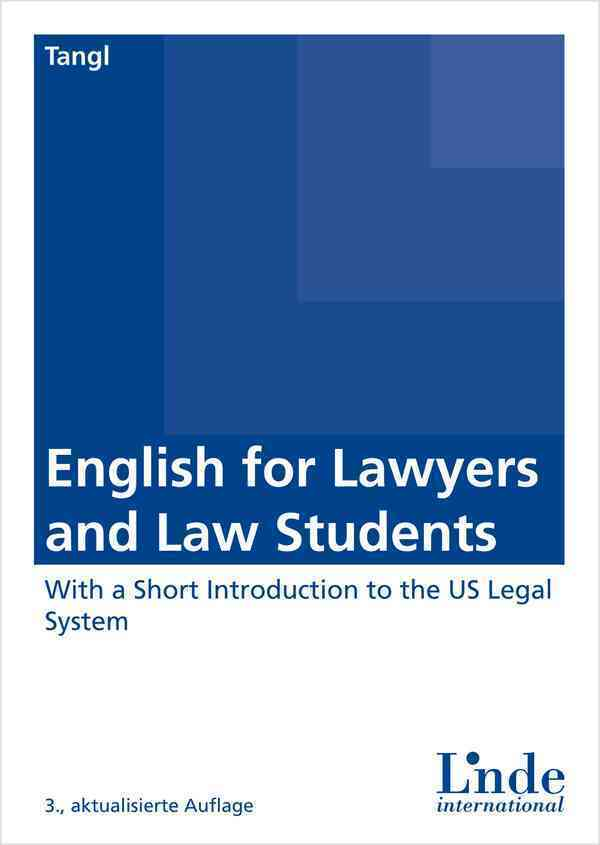 English for Lawyers and Law Students als Buch (kartoniert)