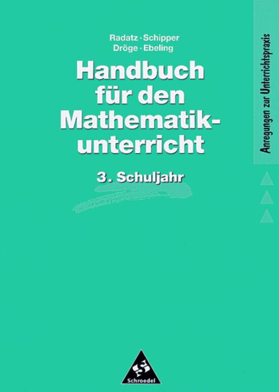 Handbuch für den Mathematikunterricht. 3. Schuljahr als Buch (kartoniert)