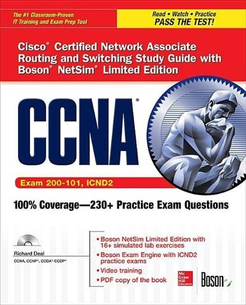 CCNA Routing and Switching Icnd2 Study Guide (Exam 200-101, Icnd2), with Boson Netsim Limited Edition als Taschenbuch