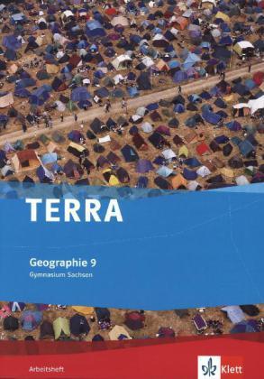 TERRA Geographie für Sachsen - Ausgabe für Gymnasien. Arbeitsheft 9. Klasse als Buch (geheftet)