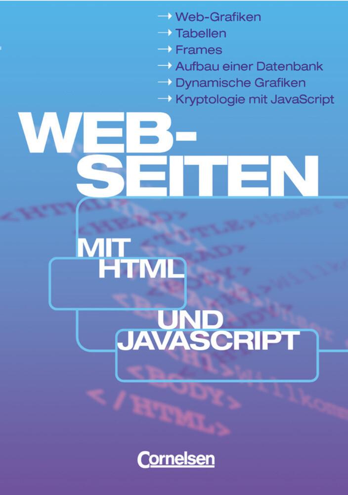 Web-Seiten mit HTML und JavaScript als Buch (kartoniert)