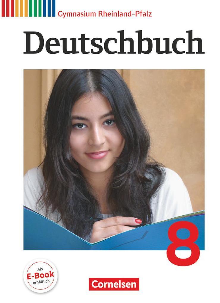 Deutschbuch Gymnasium 8. Schuljahr. Schülerbuch Rheinland-Pfalz als Buch (gebunden)