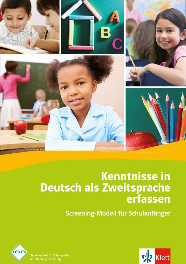 Kenntnisse in Deutsch als Zweitsprache erfassen als Buch (geheftet)