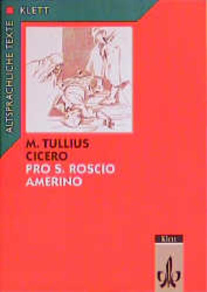 Pro S. Roscio Amerino ad iuidices oratio als Buch (geheftet)