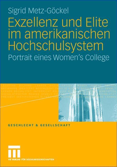 Exzellenz und Elite im amerikanischen Hochschulsystem als Buch (kartoniert)