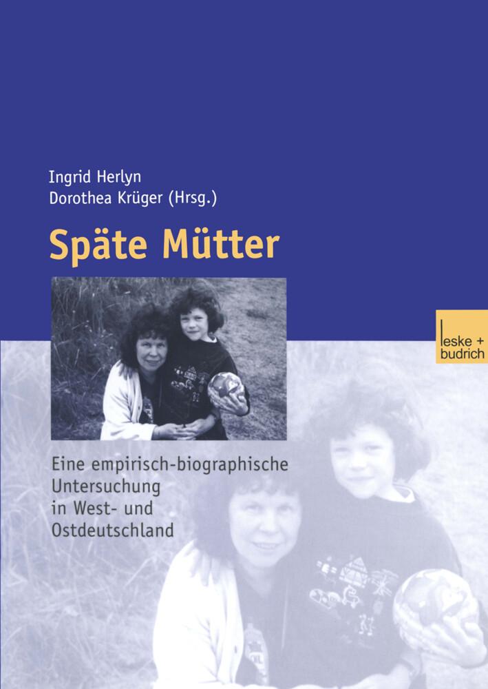Späte Mütter als Buch (kartoniert)