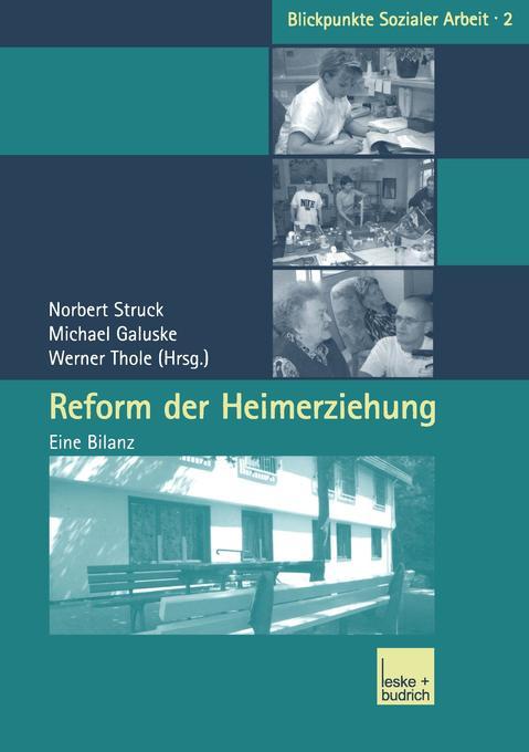 Reform der Heimerziehung als Buch (kartoniert)