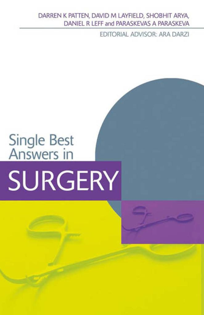 Single Best Answers in Surgery als eBook epub
