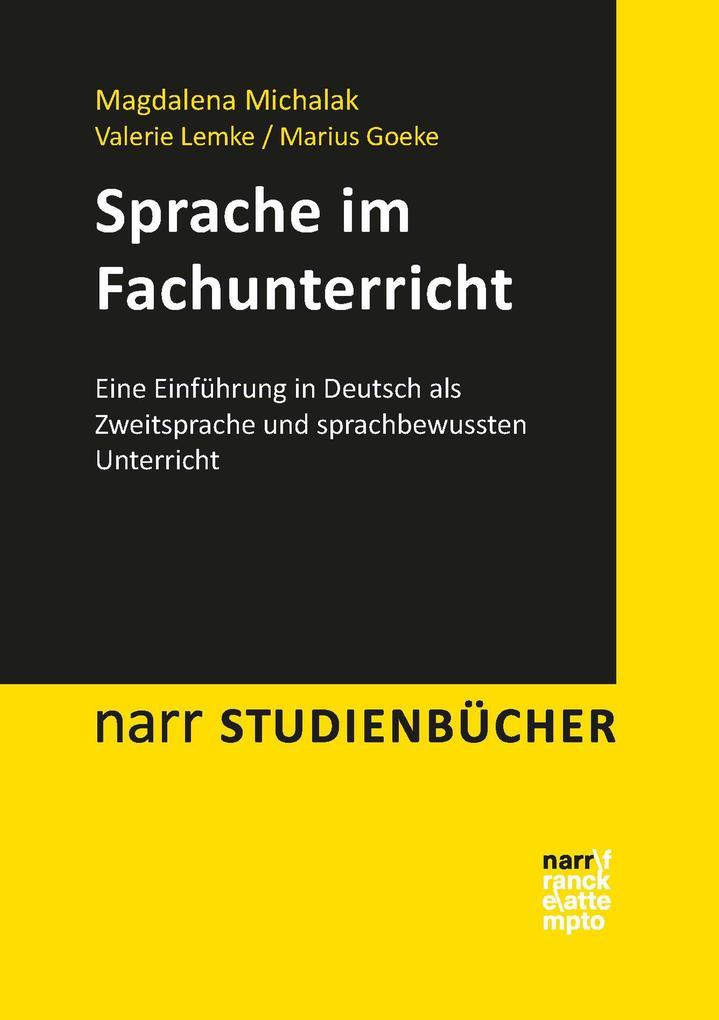 Sprache im Fachunterricht als eBook pdf