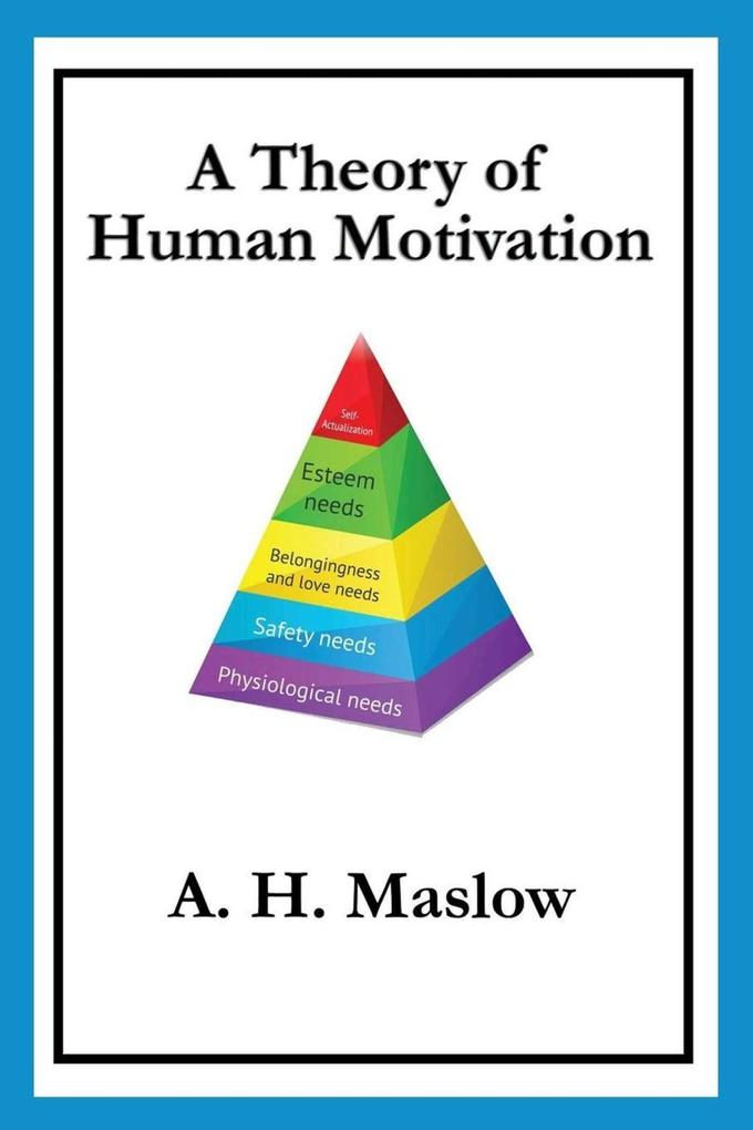 A Theory of Human Motivation als eBook epub