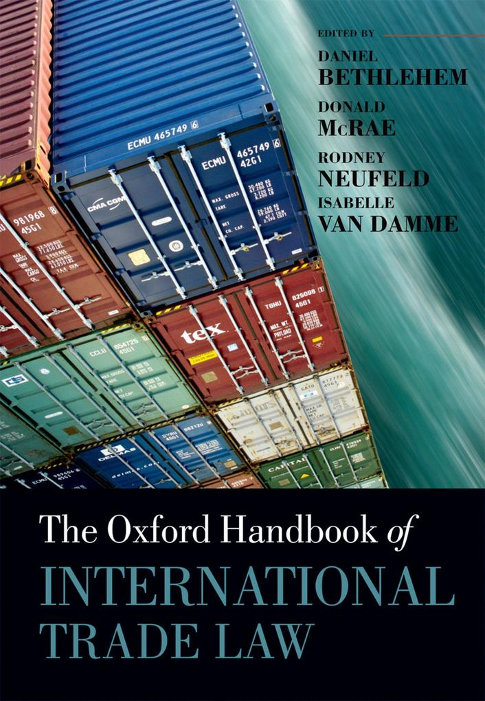 The Oxford Handbook of International Trade Law als eBook epub