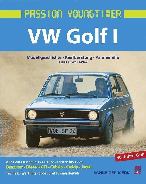VW Golf 1 als Buch (gebunden)