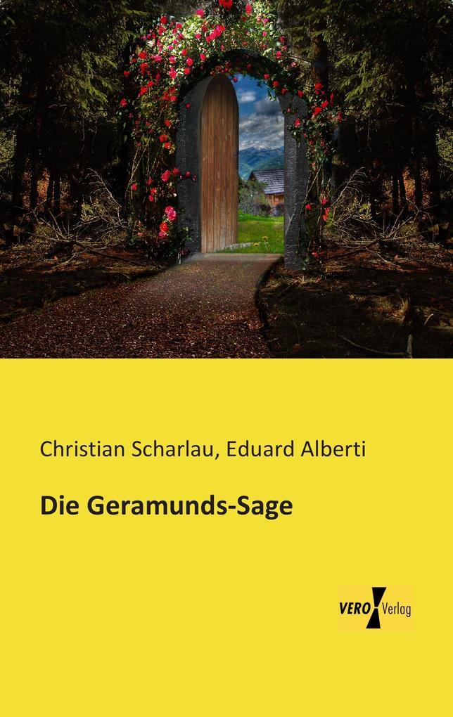 Die Geramunds-Sage als Buch (kartoniert)