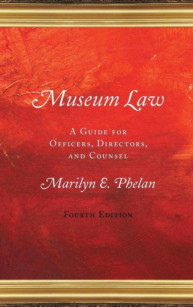 Museum Law als Buch (gebunden)