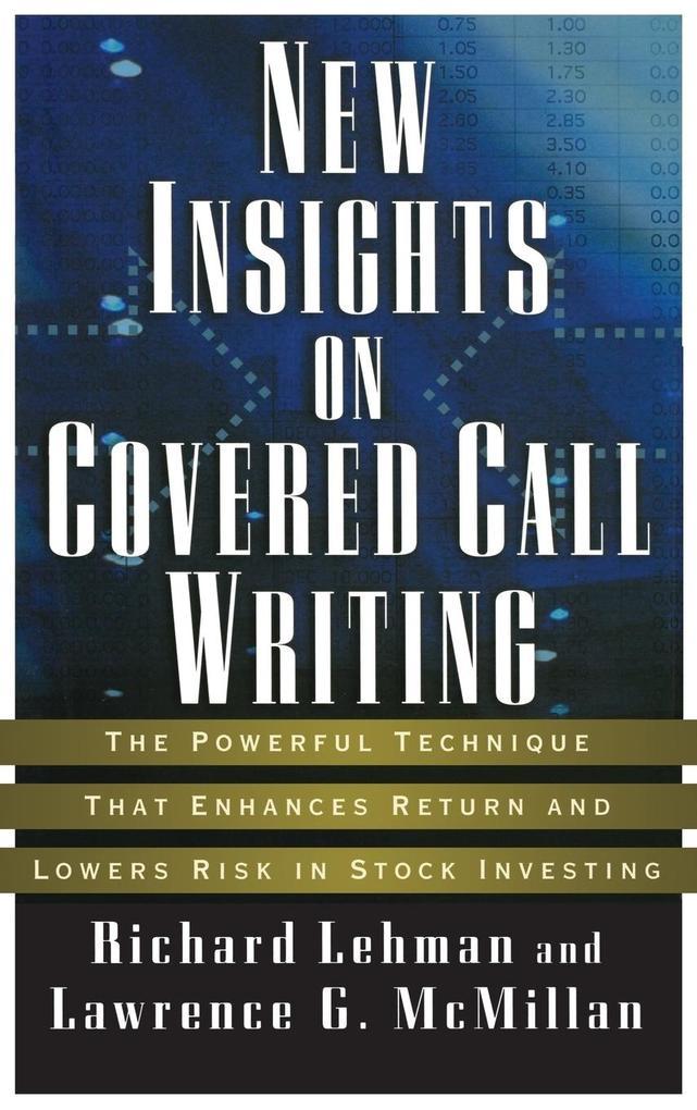 New Insights Covered Call Writ als Buch (gebunden)
