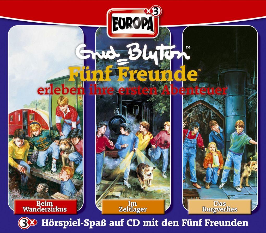 Fünf Freunde Box 01. Einsteigerbox. 3 CDs als CD