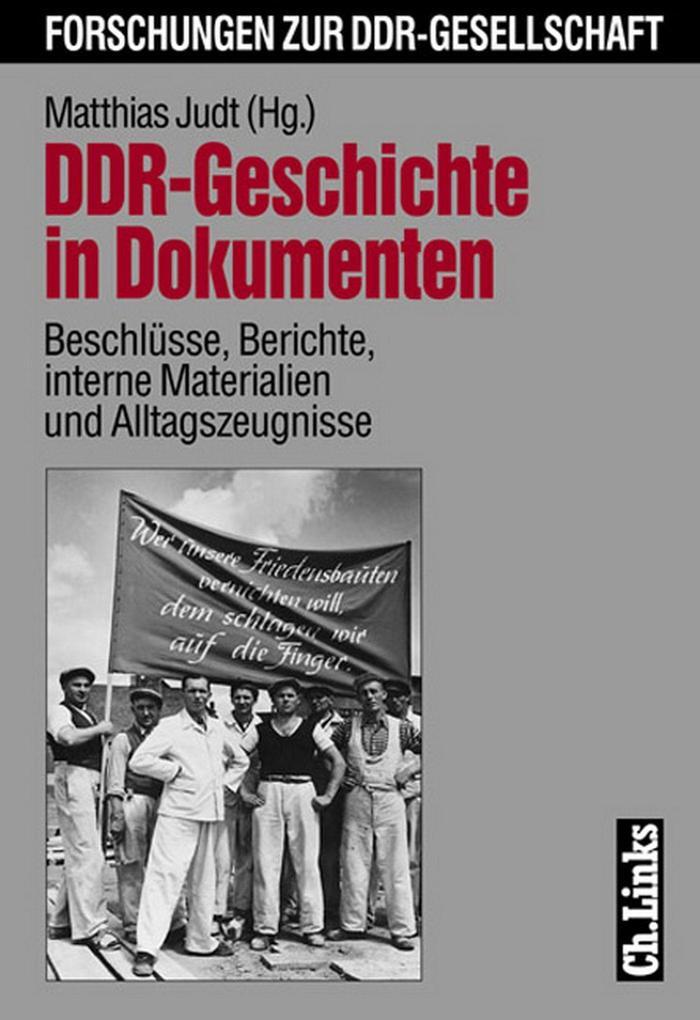 DDR-Geschichte in Dokumenten als eBook epub