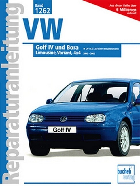 VW Golf IV / Bora als Buch (kartoniert)