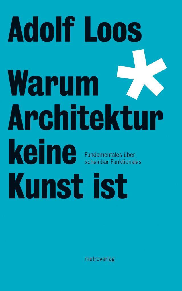 Warum Architektur keine Kunst ist als eBook epub