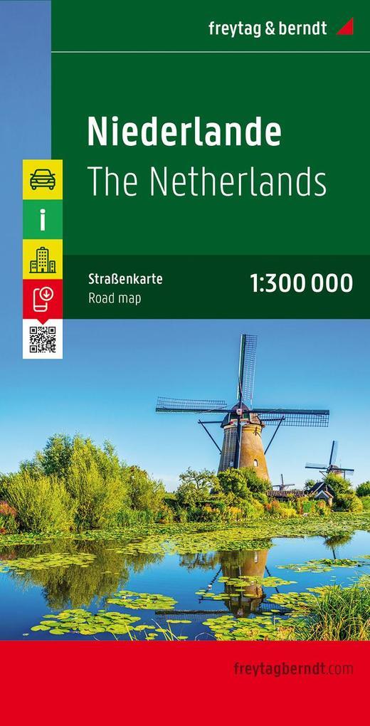 Niederlande 1 : 300 000 als Blätter und Karten