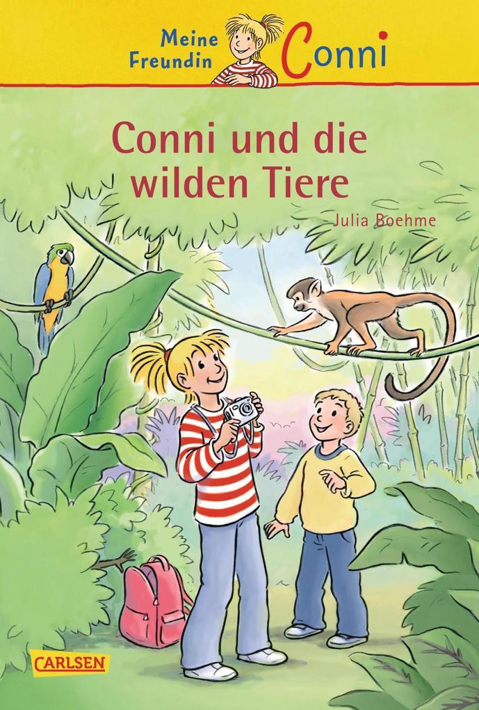 Conni-Erzählbände 23: Conni und die wilden Tiere als eBook epub