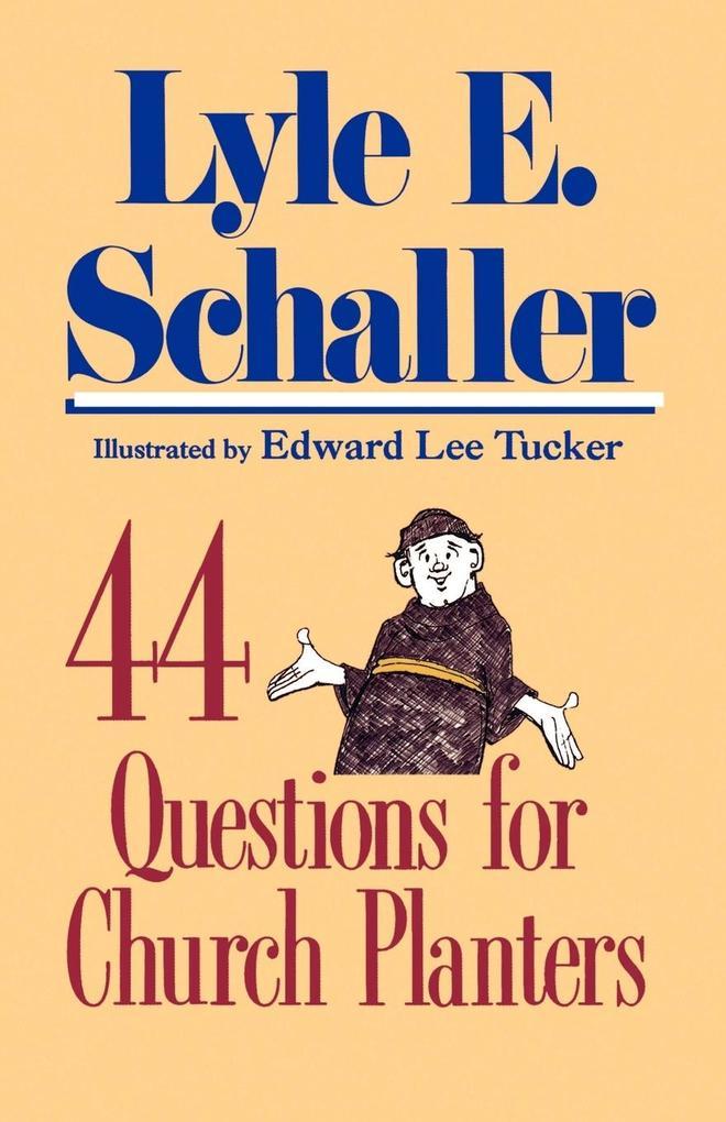44 Questions for Church Planters als Taschenbuch