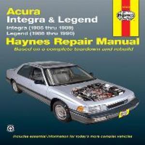 Acura Integra & Legend (86 - 90) als Taschenbuch