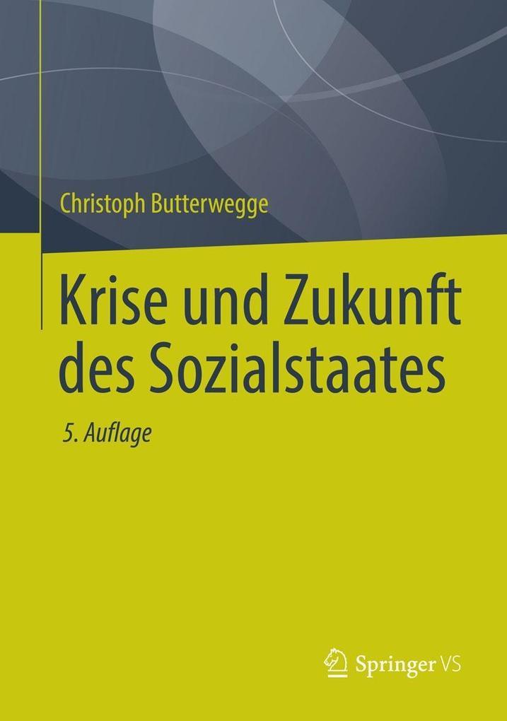 Krise und Zukunft des Sozialstaates als eBook pdf