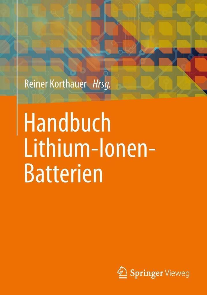 Handbuch Lithium-Ionen-Batterien als eBook