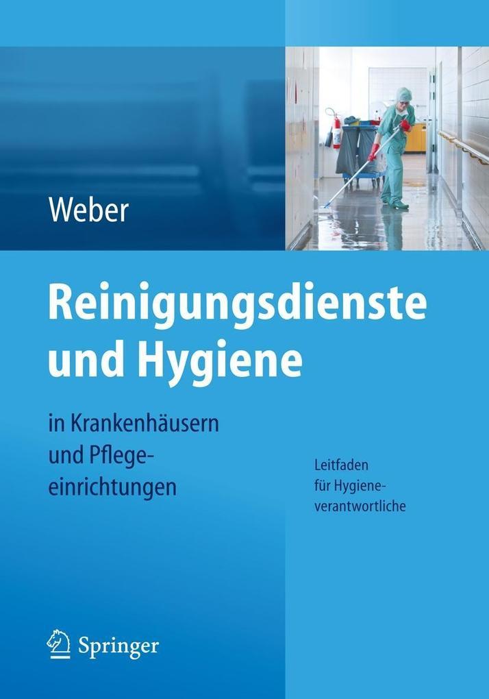 Reinigungsdienste und Hygiene in Krankenhäusern und Pflegeeinrichtungen als eBook pdf