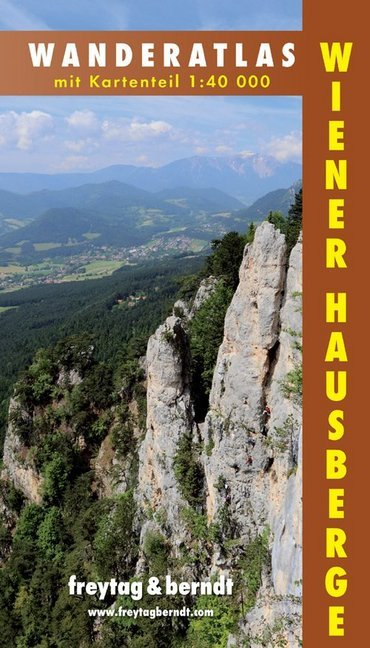 Wiener Hausberge 1 : 40 000 Wanderatlas als Buch (kartoniert)