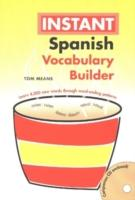 Spanish Instant Vocabulary Builder with CD als Taschenbuch