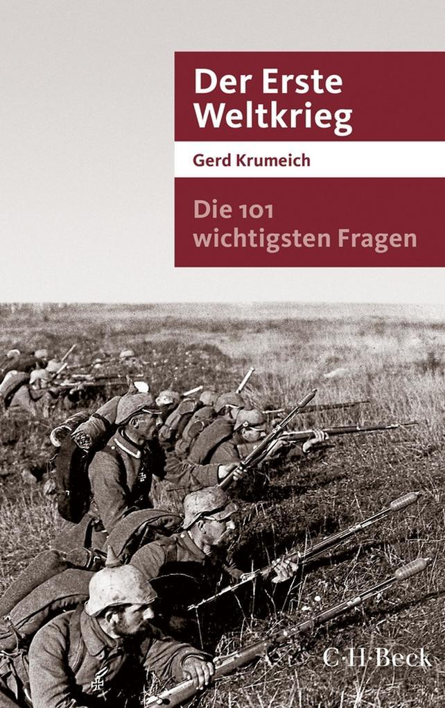 Die 101 wichtigsten Fragen - Der Erste Weltkrieg als eBook epub