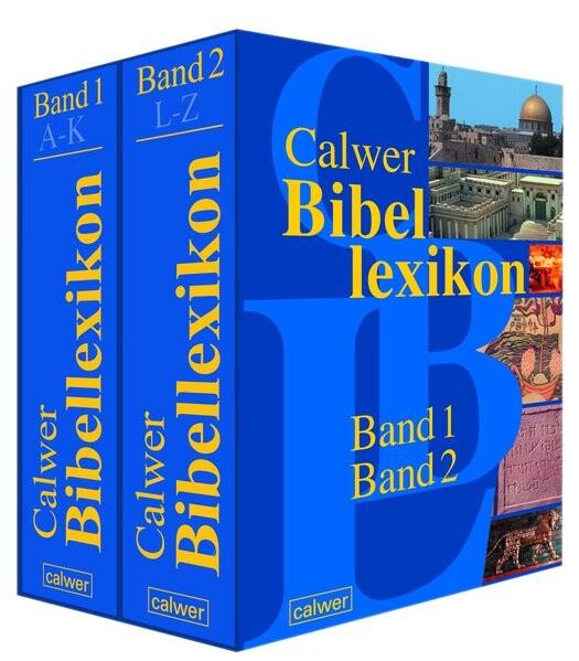 Calwer Bibellexikon.Band 1 und 2 als Buch (gebunden)