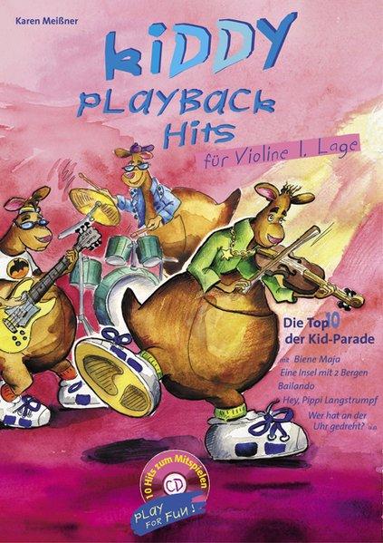 Kiddy Playback Hits für Violine als Buch (kartoniert)