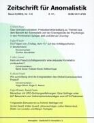 Zeitschrift für Anomalistik 3. Nr. 1/2 als Buch (kartoniert)