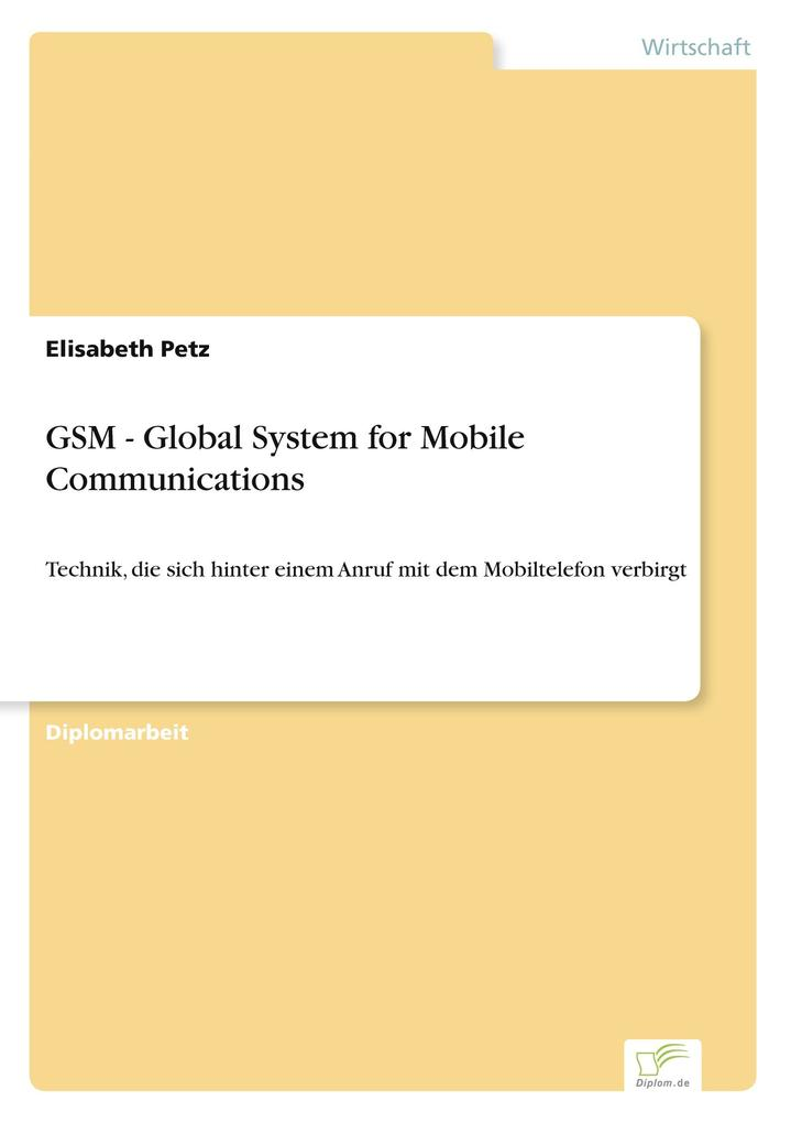 GSM - Global System for Mobile Communications als Buch (kartoniert)