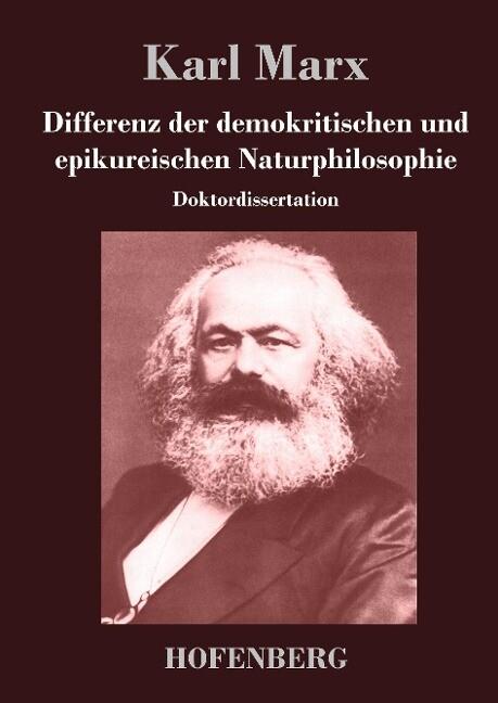 Differenz der demokritischen und epikureischen Naturphilosophie als Buch (gebunden)