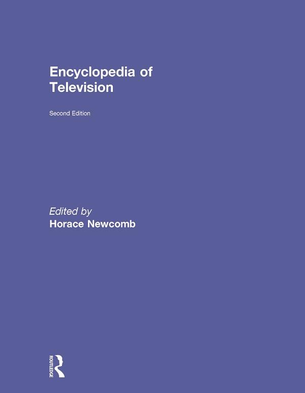 Encyclopedia of Television als eBook epub