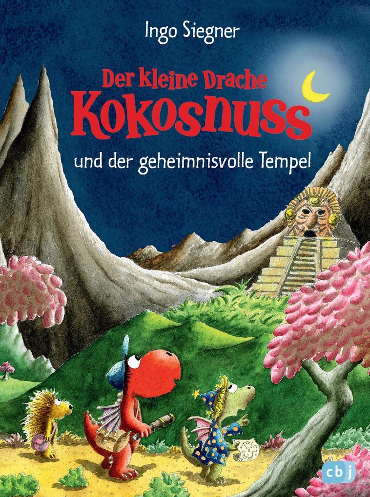 Der kleine Drache Kokosnuss und der geheimnisvolle Tempel als eBook epub