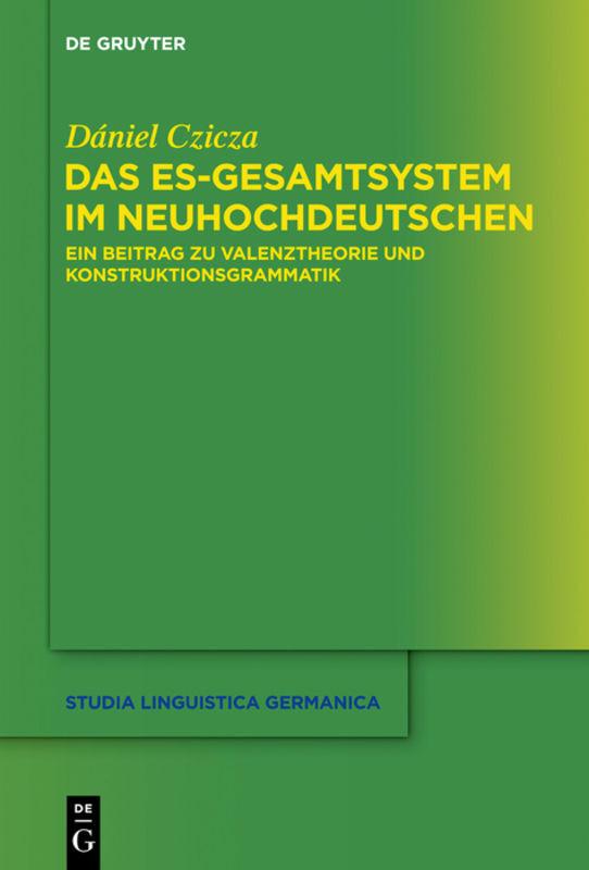 Das es-Gesamtsystem im Neuhochdeutschen als Buch (gebunden)