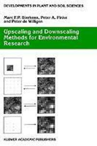Upscaling and Downscaling Methods for Environmental Research als Buch (gebunden)