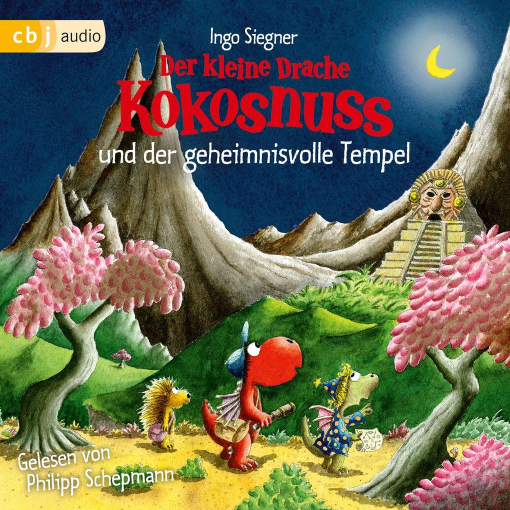 Der kleine Drache Kokosnuss und der geheimnisvolle Tempel als Hörbuch Download