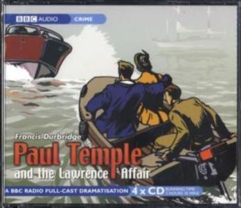 Paul Temple And The Lawrence Affair als Hörbuch CD