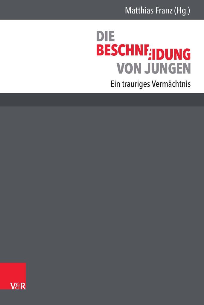 Die Beschneidung von Jungen als eBook pdf