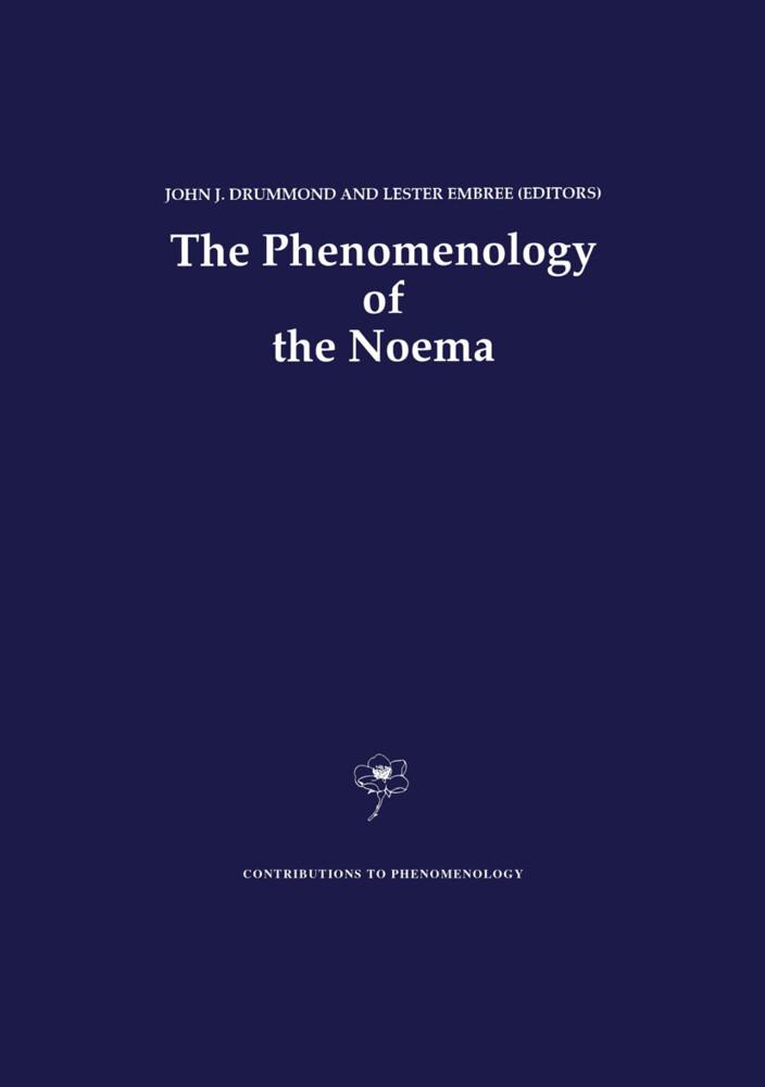 The Phenomenology of the Noema als Buch (gebunden)