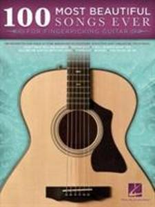 100 Most Beautiful Songs Ever For Fingerpicking (Guitar Tab Book) als Taschenbuch