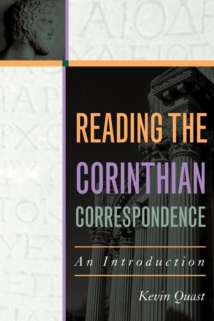 Reading the Corinthian Correspondence als Taschenbuch