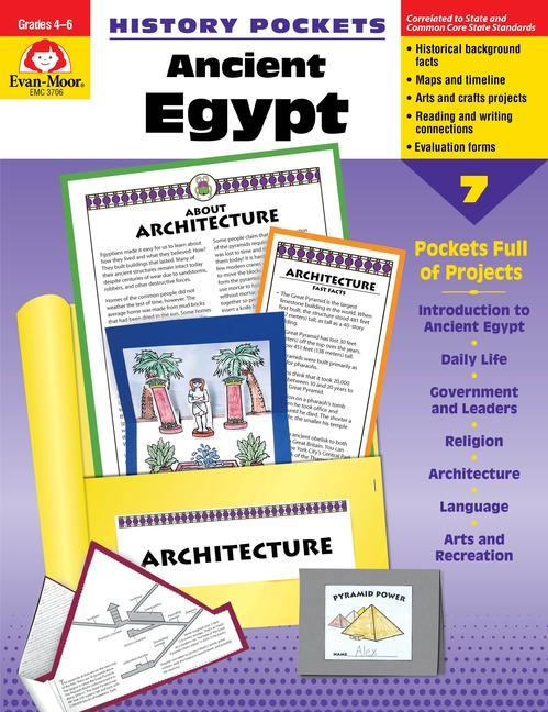 History Pockets, Ancient Egypt als Taschenbuch