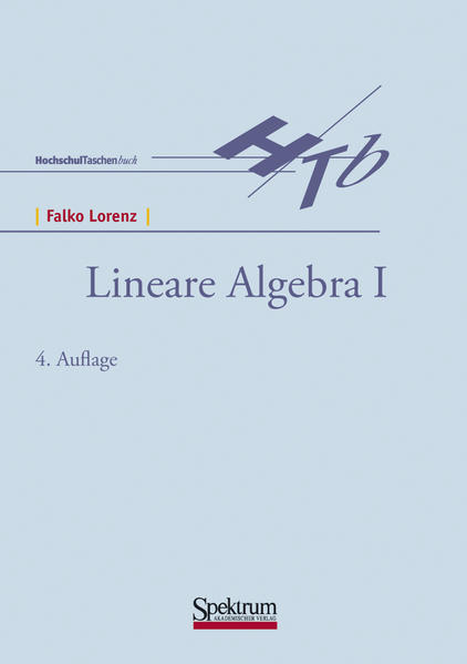 Lineare Algebra I als Buch (kartoniert)